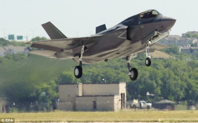 Invisible: The Joint Strike Fighter can fool radar systems due to its shape which makes it hard to detect