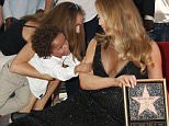 Mariah Carey is being honored with a Star on the Hollywood Walk of Fame in front of the W Hotel, Hollywood, California.  Pictured: Mariah Carey and son - Moroccan Cannon Ref: SPL1092877  050815   Picture by: Russ Einhorn / Splash News  Splash News and Pictures Los Angeles: 310-821-2666 New York: 212-619-2666 London: 870-934-2666 photodesk@splashnews.com