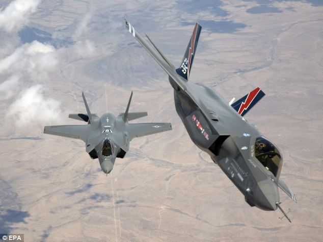 Big business: Lockheed Martin is the world's largest defence contracting company