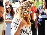 Perrie Edwards of Little Mix Looks Downcast Arriving Back to Her Hotel  Pictured: Jade Thirlwall, Perrie Edwards, Leigh-Anne Pinnock, Jesy Nelson Ref: SPL1095165  050815   Picture by: All Access Photo Group  Splash News and Pictures Los Angeles: 310-821-2666 New York: 212-619-2666 London: 870-934-2666 photodesk@splashnews.com