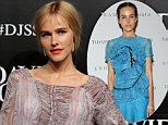SYDNEY, AUSTRALIA - AUGUST 05:  Isabel Lucas arrives ahead of the David Jones Spring/Summer 2015 Fashion Launch at David Jones Elizabeth Street Store on August 5, 2015 in Sydney, Australia.  (Photo by Mark Metcalfe/Getty Images for David Jones)