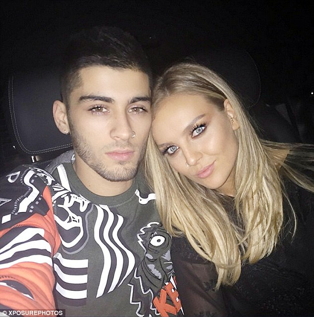 It's over: Perrie is said to be 'livid' with her former beau following their unexpected split, which comes just weeks after they bought a £3million house together