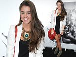 5 August 2015.\nBrooke Vincent arrives at Ruben Creative Manchester for the launch of Windle & Moodie at Ruben Creative.\nCredit: GoffPhotos.com   Ref: KGC-246\n