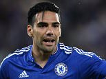Radamel Falcao of Chelsea during the International Champions Cup Pre-season friendly played at Stamford Bridge, London