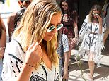 The girls were spotted leaving their hotel on a hot summers day in los angeles and from their hotel they went straight to a frozen yogurt store. Perrie Edwards was seen leaving the hotel hand in hand with Leigh-Anne Pinnock perhaps in a show of solidarity as it was announced recently that Perrie had split up with Zayn Malik. Perrie was the only member of the group that didn't want to get a frozen treat. \n\nPictured: Little Mix\nRef: SPL1095563  050815  \nPicture by: Splash News\n\nSplash News and Pictures\nLos Angeles: 310-821-2666\nNew York: 212-619-2666\nLondon: 870-934-2666\nphotodesk@splashnews.com\n
