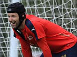 ST ALBANS, ENGLAND - AUGUST 06: Petr Cech of Arsenal during a training session at London Colney on August 6, 2015 in St Albans, England. (Photo by Stuart MacFarlane/Arsenal FC via Getty Images)