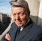 Alan Johnson photographed on his office balcony, Wednesday, 24 March 2011. Ph: Rebecca Reid