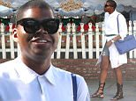 Picture Shows: EJ Johnson  August 04, 2015\n \n Reality star EJ Johnson spotted out for lunch with a friend at The Ivy in West Hollywood, California. EJ has been working hard at losing weight and has lost over 180 pounds.\n \n Non-Exclusive\n UK RIGHTS ONLY\n \n Pictures by : FameFlynet UK © 2015\n Tel : +44 (0)20 3551 5049\n Email : info@fameflynet.uk.com