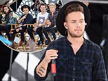 """One Direction performs a special concert for Good Morning America, NYC debuting their first new song """"Drag Me Down"""" without Zayn Malik  Pictured: Liam Payne Ref: SPL1094220  040815   Picture by: Derek Storm / Splash News  Splash News and Pictures Los Angeles: 310-821-2666 New York: 212-619-2666 London: 870-934-2666 photodesk@splashnews.com"""