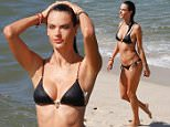 *EXCLUSIVE* Rio de Janeiro, Brazil - Alessandra Ambrosio shows off her incredible figure as she goes for dip after wrapping up an interview in Rio for Brazilian TV Show 'Estrelas' (Stars).\nAKM-GSI          August 4, 2015\nTo License These Photos, Please Contact :\nSteve Ginsburg\n(310) 505-8447\n(323) 423-9397\nsteve@akmgsi.com\nsales@akmgsi.com\nor\nMaria Buda\n(917) 242-1505\nmbuda@akmgsi.com\nginsburgspalyinc@gmail.com