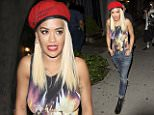 Rita Ora seen leaving Nick Jonas party in Los Angeles, CA\n\nPictured: Rita Ora\nRef: SPL1096050  060815  \nPicture by: SPW / Twist / Splash News\n\nSplash News and Pictures\nLos Angeles: 310-821-2666\nNew York: 212-619-2666\nLondon: 870-934-2666\nphotodesk@splashnews.com\n