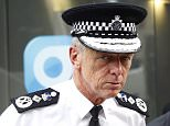 LONDON, UNITED KINGDOM - AUGUST 6:  Met Police Commissioner Sir Bernard Hogan-Howe seen leaving the LBC Radio Studios on August 6, 2015 in London, England. (Photo by Alex Huckle/GC Images)