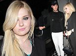 """""""Little Miss Sunshine"""" star Abigail Breslin and a mystery man dine out at Craig's restaurant in West Hollywood, CA\n\nPictured: Abigail Breslin\nRef: SPL1095258  050815  \nPicture by: Roshan Perera\n\nSplash News and Pictures\nLos Angeles: 310-821-2666\nNew York: 212-619-2666\nLondon: 870-934-2666\nphotodesk@splashnews.com\n"""