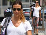 Mandatory Credit: Photo by Startraks Photo/REX Shutterstock (4930022g)\n Kelly Bensimon\n Kelly Bensimon out and about, New York, America - 05 Aug 2015\n Kelly Bensimon walking her dog with daughter Sea Louise after Yoga Class\n