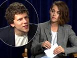 Kristen Stewart Pranks Jesse Eisenberg During This Awkward Interview\n