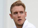 Cricket - England v Australia - Investec Ashes Test Series Fourth Test - Trent Bridge - 6/8/15  England's Stuart Broad reacts after dismissing Australia's Michael Clarke (not pictured)   Reuters / Philip Brown  Livepic