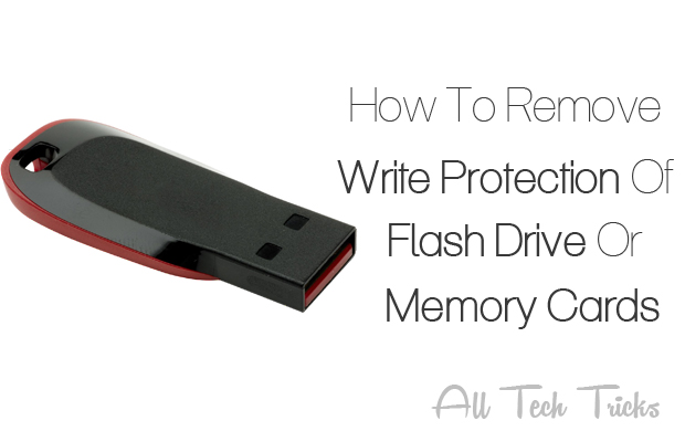 Remove write protection, how to, Tips