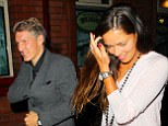 Bastian Schweinsteiger went out for a meal in Manchester on Monday night with partner Ana Ivanovic