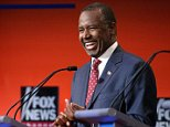 CLEVELAND, OH - AUGUST 06:  Republican presidential candidate Ben Carson participates in the first prime-time presidential debate hosted by FOX News and Facebook at the Quicken Loans Arena August 6, 2015 in Cleveland, Ohio. The top-ten GOP candidates were selected to participate in the debate based on their rank in an average of the five most recent national political polls.  (Photo by Chip Somodevilla/Getty Images)