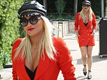 Picture Shows: Rita Ora  August 06, 2015\n \n **Min Web / Online Fee £400 For Set **\n \n Singer Rita Ora has a busy day in Los Angeles, California. Rita started out by stopping by a studio before heading to a meeting in Burbank. Rita is in LA to promote her new single 'Body On Me' featuring Chris Brown.\n \n **Min Web / Online Fee £400 For Set **\n \n Exclusive All Rounder\n UK RIGHTS ONLY\n FameFlynet UK © 2015\n Tel : +44 (0)20 3551 5049\n Email : info@fameflynet.uk.com