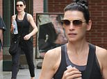 Mandatory Credit: Photo by Startraks Photo/REX Shutterstock (4930983b)\n Julianna Margulies\n Julianna Margulies out and about, New York, America - 07 Aug 2015\n Julianna Margulies on her Way to the Gym\n