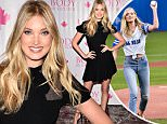 TORONTO, ON - AUGUST 06:  Victoria's Secret Angel Elsa Hosk celebrates the launch of the New Body by Victoria collection at Victoria's Secret Toronto Eaton Shopping Centre on August 6, 2015 in Toronto, Canada.  (Photo by George Pimentel/WireImage)