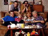 TELEVISION PROGRAMME...' The Royle Family ' The new baby for the new series   -  This is the first sighting of the newest addition to Britain's favourite family of couch potatoes, the Royles  The boy, with Caroline Aherne, who plays his mother Denise, makes his first appearance when the award-winning Royale Family starts a new run on BBC1 on October 16  -  Twin brothers James and Matthew Hughes, from West London, will share the duties of playing the new arrival, David Keanu Ronan Royle.