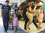 7.AUG.2015 - HOLLYWOOD - USA **** NO WEB USE - NO WEB USE *** MUST CALL FOR PRICING - EXCLUSIVE PICTURES AVAILABLE FOR PRINT ONLY -        ***STRICT ONLINE EMBARGO*** ** EXCLUSIVE ALL ROUND PICTURES WITH TRIPLE SPACE RATES FOR GERMAN CLIENTS ** RETIRED FOOTBALL PLAYER TURNED MODEL/ACTOR DAVID BECKHAM TAKES HIS ADORABLE LITTLE GIRL HARPER TO LUNCH AT TENDER GREENS IN WEST HOLLYWOOD. BECKHAM PLAYS AROUND WITH HIS SON BROOKLYN AND HIS DAUGHTER HARPER IN THE CAR PARK AFTER LUNCH BYLINE MUST READ : XPOSUREPHOTOS.COM ***UK CLIENTS - PICTURES CONTAINING CHILDREN PLEASE PIXELATE FACE PRIOR TO PUBLICATION *** *UK CLIENTS MUST CALL PRIOR TO TV OR ONLINE USAGE PLEASE TELEPHONE 0208 344 2007*