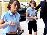 Mandatory Credit: Photo by Buzz Foto/REX Shutterstock (4931472f)\n Kristen Stewart\n Kristen Stewart out and about, New York, America - 09 Aug 2015\n \n