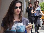EXCLUSIVE: August 7th 2015: Liv Tyler and boyfriend seen wearing gym clothes and getting into a waiting car in West Village, New York City USA.  Pictured: Liv Tyler and Dave Gardner Ref: SPL1095675  070815   EXCLUSIVE Picture by: Splash News  Splash News and Pictures Los Angeles: 310-821-2666 New York: 212-619-2666 London: 870-934-2666 photodesk@splashnews.com