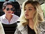 Gigi Hadid Explains to Derek Blasberg How She's Related to Kendall Jenner