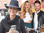 Vogue Williams spotted back on home soil after her recent split with Brian McFadden. In high spirits, Vogue was seen walking with a friend wearing super-high slits in her skirt on South Williams Street, Dublin, Ireland - 06.08.15. Featuring: Vogue Williams Where: Dublin, Ireland When: 06 Aug 2015 Credit: WENN.com **Not available for publication in Ireland**