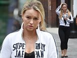 Picture Shows: Ola Jordan, Janette Manrara  August 07, 2015    * Min Web / online fee £350 For Set *    Dancers from 'Strictly Come Dancing' are seen having a break from rehearsals at a studio in London, England.    The celebrity line-up for the 2015 show are set to be announced on Monday by Chris Evans on his BBC Radio 2 show.    * Min Web / online fee £350 For Set *    Exclusive All Rounder  WORLDWIDE RIGHTS  FameFlynet UK © 2015  Tel : +44 (0)20 3551 5049  Email : info@fameflynet.uk.com