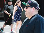 Picture Shows: Jonah Hill  August 07, 2015\n \n '22 Jump Street' actor Jonah Hill and his sister Beanie spotted out walking his dog in New York City, New York. Jonah has been getting ready to start filming '23 Jump Street'.\n \n Non-Exclusive\n UK RIGHTS ONLY\n \n Pictures by : FameFlynet UK © 2015\n Tel : +44 (0)20 3551 5049\n Email : info@fameflynet.uk.com