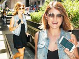 ***MANDATORY BYLINE TO READ INFPhoto.com ONLY***\nLucy Hale is seen out and about in a denim vest and black dress today in mid-town New York City.\n\nPictured: Lucy Hale\nRef: SPL1097144  070815  \nPicture by: papjuice/INFphoto.com\n\n