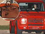 Malibu, CA - The Kardashians and Jenners exit Nobu restaurant after celebrating Kylie's 18th birthday a couple days early for fun evening.  The whole family were all in good spirits after the birthday celebration, including the new Caitlyn Jenner embracing ex-wife Kris Jenner as well as all the children including Kim, Kourtney, Khloe Kardashian and Kendall Jenner for the family reunion.  Looks like Kylie got a new red Mercedes G-Wagon for her birthday as she left in a new pimped out red G-Wagon with matching red rims.  AKM-GSI          August 7, 2015   To License These Photos, Please Contact : Steve Ginsburg (310) 505-8447 (323) 423-9397 steve@akmgsi.com sales@akmgsi.com or Maria Buda (917) 242-1505 mbuda@akmgsi.com ginsburgspalyinc@gmail.com