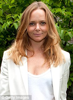 Fashion designer Stella McCartney was criticised by fans who thought that she had created the white and gold tracksuits