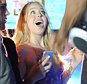 141021, EXCLUSIVE: Tiffany Trump is not setting a good example for her presidential nominee dad, Donald Trump, as she and friends Reya Benitez and Andrew Warren get carried away during the performance of Jason Derulo at the VH1 Save The Music Foundation Gala  in Wainscott. The group has to be asked by a security guard to calm down and were watched with scrutiny after  they jumped on stage, disrupting the performance. New York, New York - Saturday August 8, 2015. NY PAPERS OUT Photograph: © PacificCoastNews. Los Angeles Office: +1 310.822.0419 sales@pacificcoastnews.com FEE MUST BE AGREED PRIOR TO USAGE
