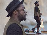 IBIZA, SPAIN - AUGUST 9: will.i.am is seen leaving a beach club on August 9, 2015 in Ibiza, Spain. (Photo by Iconic/GC Images)