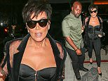 West Hollywood, CA - Kris Jenner and Corey Gamble arrive at The Nice Guy in West Hollywood for Kylie Jenners 18th birthday party. AKM-GSI          August 9, 2015 To License These Photos, Please Contact : Steve Ginsburg (310) 505-8447 (323) 423-9397 steve@akmgsi.com sales@akmgsi.com or Maria Buda (917) 242-1505 mbuda@akmgsi.com ginsburgspalyinc@gmail.com