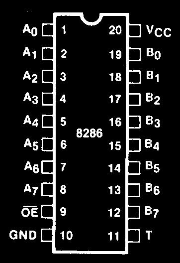 Intel 8286 Pinout