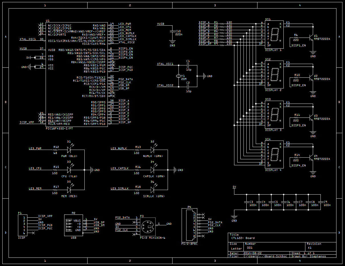 CTL122: Schematic