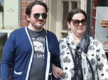 Picture Shows: Ben Falcone, Melissa McCarthy  August 09, 2015    New 'Ghostbusters' actress Melissa McCarthy and her husband Ben Falcone are spotted enjoying a Sunday stroll arm and arm around the Beacon Hill area and then in the Boston Public Gardens in Boston, Massachusetts.    Exclusive - All Round  UK RIGHTS ONLY    Pictures by : FameFlynet UK © 2015  Tel : +44 (0)20 3551 5049  Email : info@fameflynet.uk.com