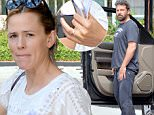 140991, Ben Affleck and Jennifer Garner reunite as they step out in Atlanta with children Seraphina and Samuel - both wearing their wedding rings! Affleck and Garner recently announced they would be divorcing after 10 years of marriage, shortly after allegations surfaced that Affleck was having an affair with the family's 28 year-old nanny, Christine Ouzounian. Affleck was spotted arriving in Atlanta yesterday, where Garner has been filming 'Miracles from Heaven.' The family were seen entering a local mall. Atlanta, Georgia - Saturday August 8, 2015. Photograph: © RGK, PacificCoastNews. Los Angeles Office: +1 310.822.0419 sales@pacificcoastnews.com FEE MUST BE AGREED PRIOR TO USAGE