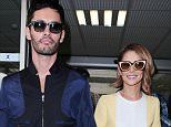 14 May 2015 - NICE - FRANCE  CHERYL FERNANDEZ VERSINI PICTURED ARRIVING AT NICE AIRPORT WITH HER HUSBAND JEAN BERNARD FERNANDEZ-VERSINI ON HER WAY TO THE 68TH CANNES FILM FESTIVAL  BYLINE MUST READ : XPOSUREPHOTOS.COM ***UK CLIENTS - PICTURES CONTAINING CHILDREN PLEASE PIXELATE FACE PRIOR TO PUBLICATION *** **UK CLIENTS MUST CALL PRIOR TO TV OR ONLINE USAGE PLEASE TELEPHONE   44 208 344 2007 **
