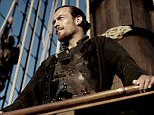 Television programme: Black Sails, starring Toby Stephens as Captain James Flint.