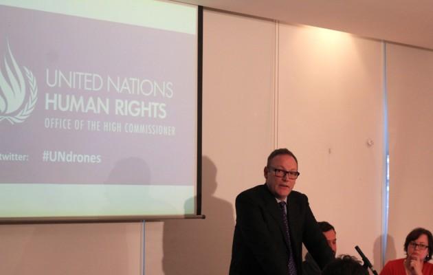 Emmerson press conference - copyright Bureau of Investigative Journalism 2013