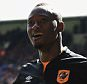 LONDON, ENGLAND - APRIL 25:  Dame N'Doye of Hull City celebrates scoring the opening goal during the Barclays Premier League match between Crystal Palace and Hull City at Selhurst Park on April 25, 2015 in London, England.  (Photo by Christopher Lee/Getty Images)
