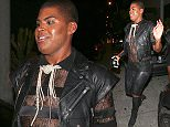 West Hollywood, CA - 'Rich Kids of Beverly Hills' star EJ Johnson shows off his wild style as he leaves Bootsy Bellows Nightclub in West Hollywood.\nAKM-GSI          August 9, 2015\nTo License These Photos, Please Contact :\nSteve Ginsburg\n(310) 505-8447\n(323) 423-9397\nsteve@akmgsi.com\nsales@akmgsi.com\nor\nMaria Buda\n(917) 242-1505\nmbuda@akmgsi.com\nginsburgspalyinc@gmail.com