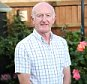 05/08/15. Good Health:  Alan Jones photographed at his home in Swindon.  Alan underwent a new type of surgery involving 'satnav' of his back which has helped his surgeon fix his slipped disc.  Feature for Good Health. Picture: John Lawrence 07850 429934